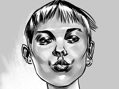 pucker up illustration