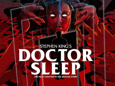 Doctor Sleep movieposter illustration