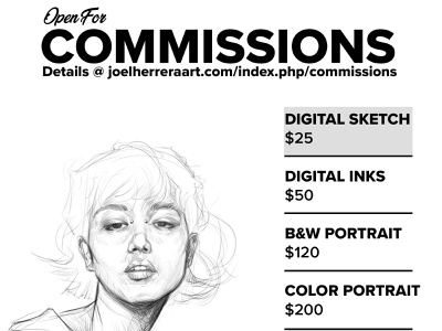 Commissions illustration