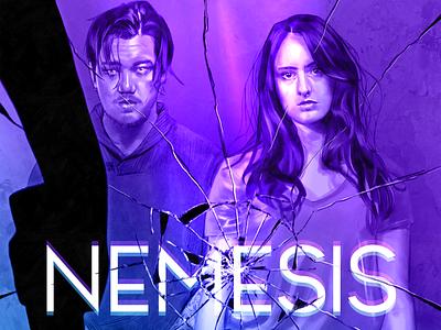 Nemesis color graphic design design movieposter illustration