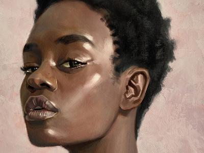 Look painting fine art illustration
