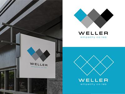 dubble-u logo branding graphic design