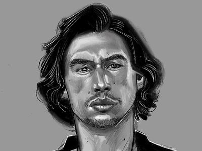 Adam procreate illustration