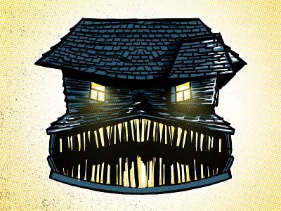 Roof inktober illustration