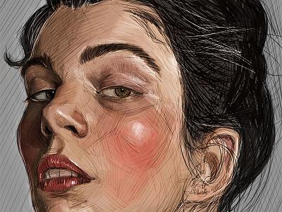 dibujo painting fine art illustration