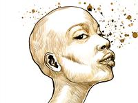 A Bald Lady