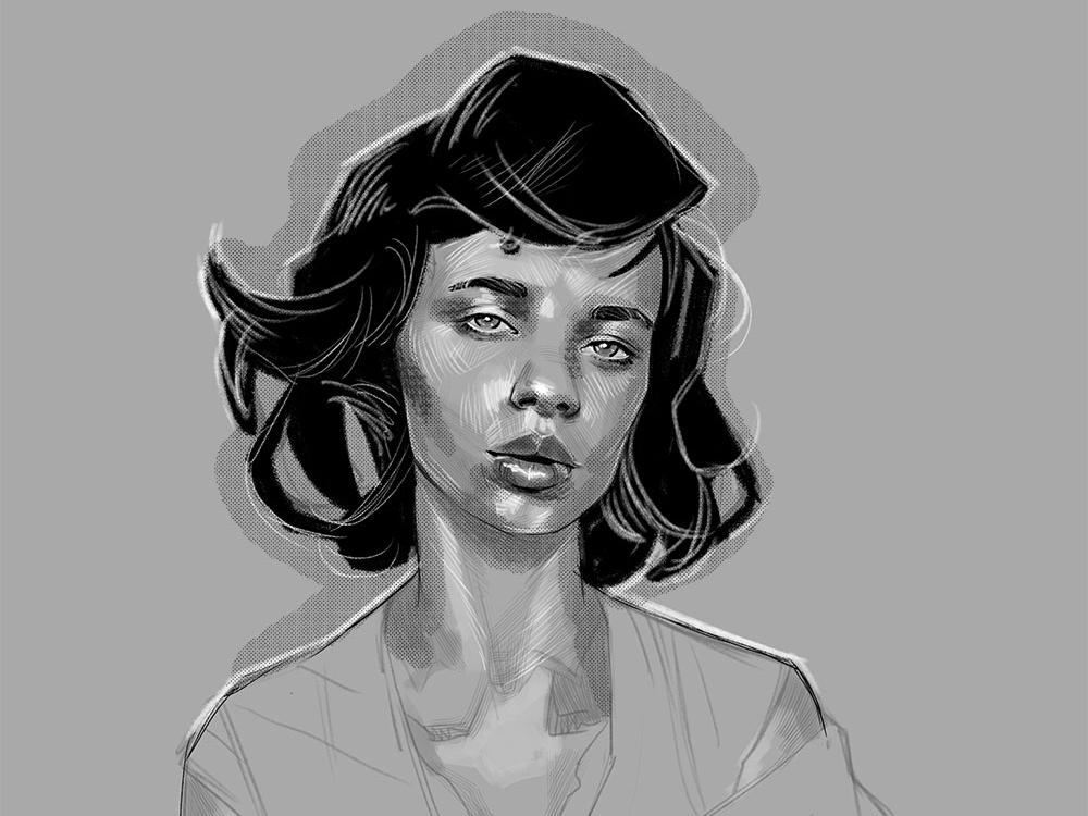 Jane illustration