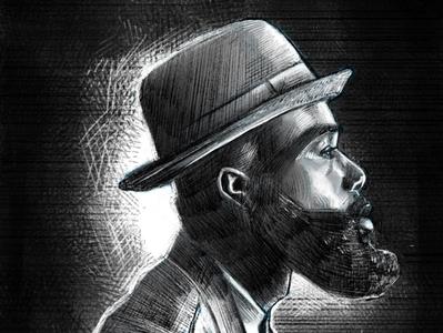 Bearded fellow