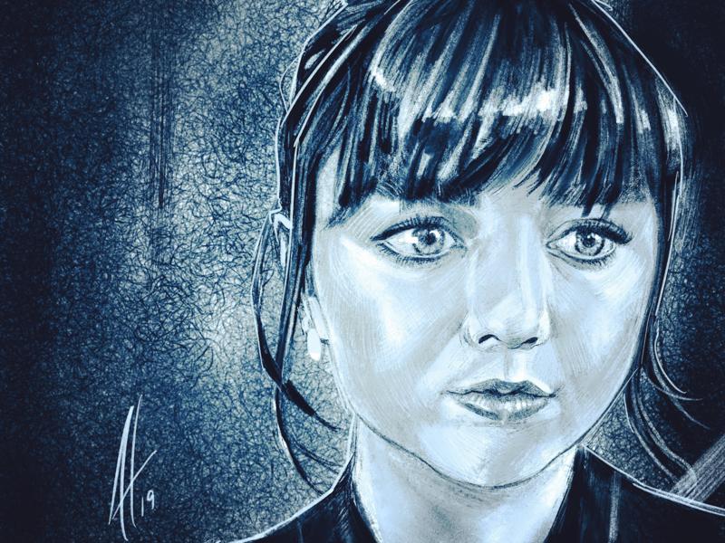 Maise Williams illustration