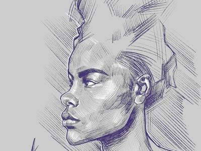 First sketch 2020