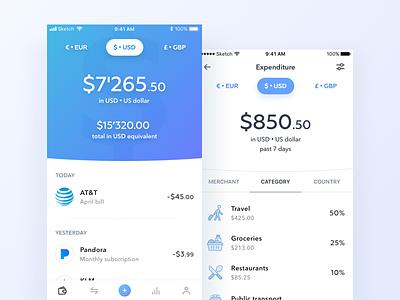 Wallet app bank finance app ios wallet