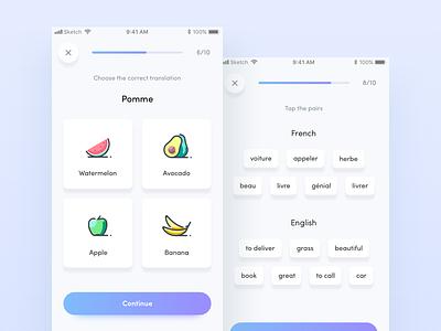 Language learning app sketch app ios learning language