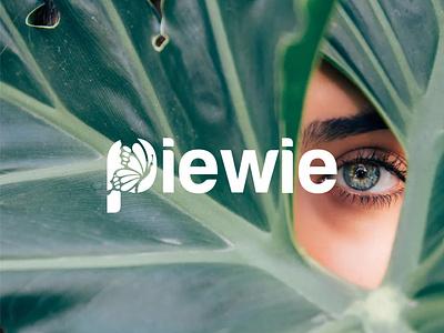 Piewie | Skincare Logo product face cosmetics beauty organic design branding minimal skincare logo