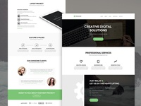 Treehouse Free Web Template