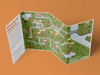 Stranger Things Hawkins Map