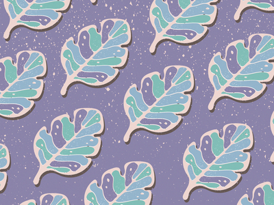 Leaves Fabric Pattern fabric leaf summer autumn leaves pattern nature illustration