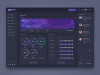 Events management dashboard