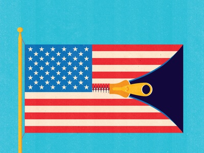 Premium Stock: Business & Editorial print design ready to license vector graphicdesign license licensing stock art conceptual textured illustration editorial illustration businesscard politics america editorial business usa flag stock
