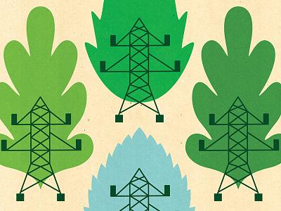 Green energy energy illustrator texture web banner climatechange conceptual illustration textured editorial banner editorial illustration green energy green