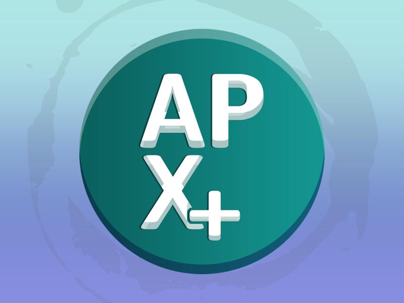 APX Plus Logo photoshop adobe branding logo graphic design