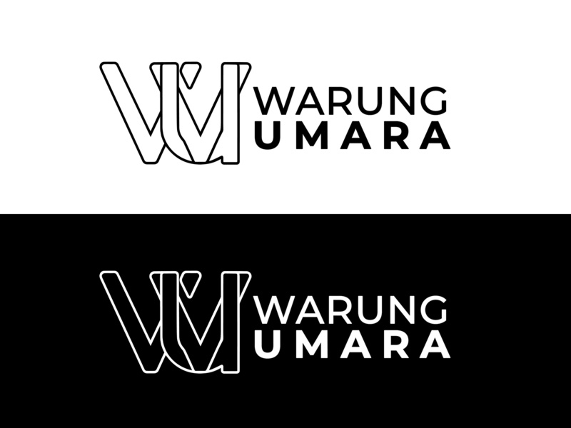 Warung Umara Logo vector icon branding illustration design logo