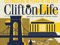 Clifton Life 10th Anniversary Magazine Cover