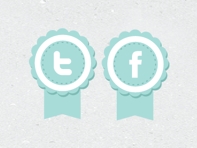 Twitter / Facebook twitter facebook tweet fb twit tags icons twitter feed twitter icon facebook icon