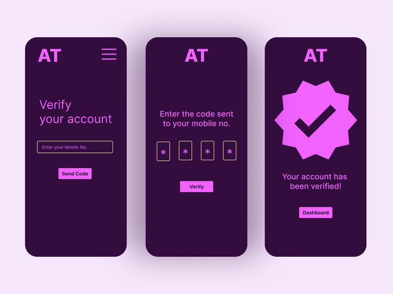 AppTest Verification UI figma branding art app ux ui minimal illustration flat design