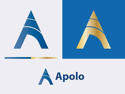 A letter app icon art arrow arc alphabet beauty logo brand design brand identity branding design illustrator logo illustration design a letter logo a logo a logo design apolo
