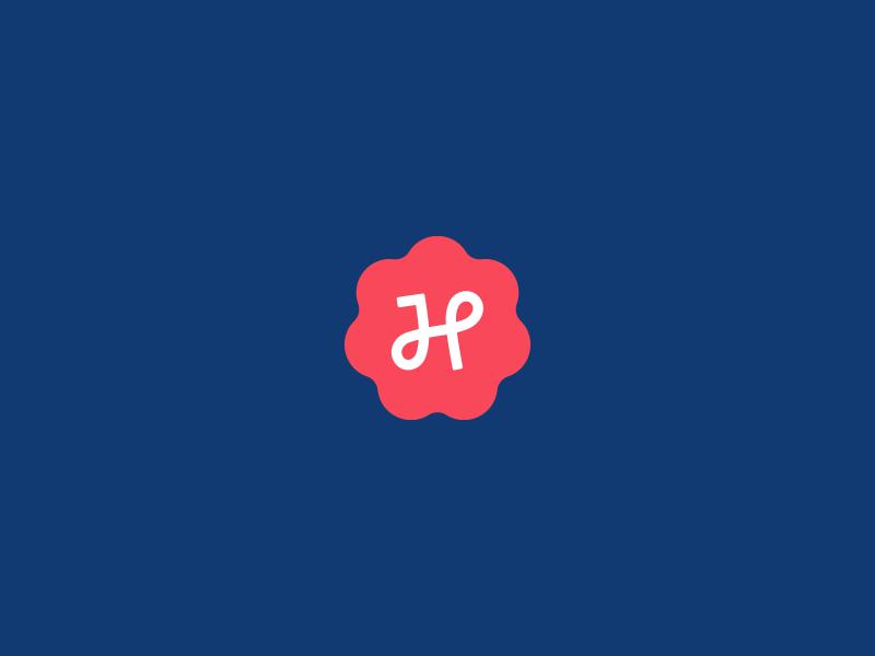 HP Seal honest wip monogram icon mark logo seal