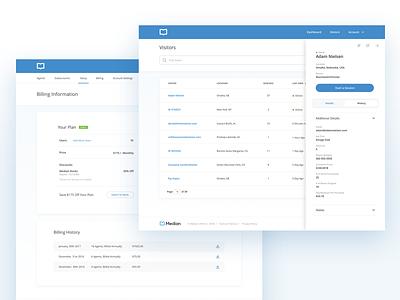 Median UI app ui design ui startup ux