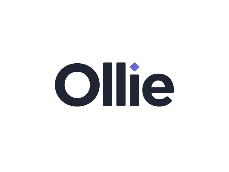 Ollie Logo branding startup logo