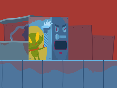 Angry Alien´s Screw Machine screw alien machine asset game