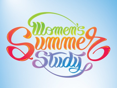Women's Summer Study swoosh pen gel calligraphy script glossy candy study summer women