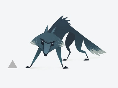 Character design for animation. Week 7 wolf lineup characters cgma cartoons art illustration