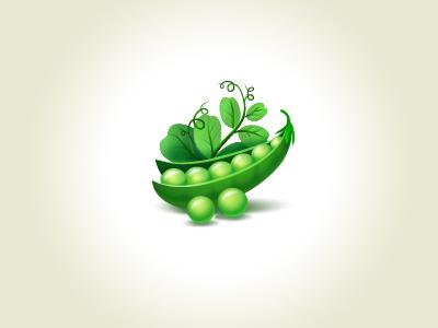 Pea icon pea vegetable fruit