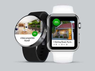 Domain Wearables - Android Wear & Apple Watch