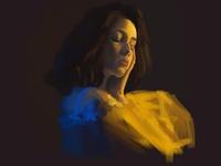 Girl 2 digital illustration digital art painting digital painting digitalart illustration autodesk sketchbook autodesksketchbook sketch sketchbook