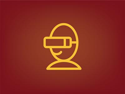 VR visor icon