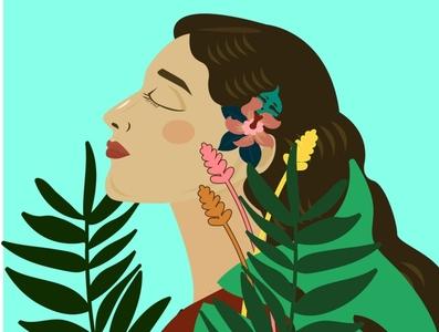 illustration vector characterdesign pink vector illustration illustrator design illustration