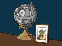 Star Wars Mantelpiece