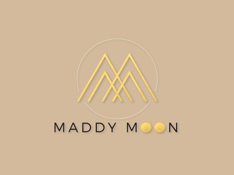Maddy Moon Logo branding logo design