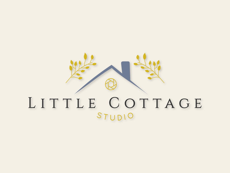 Little Cottage Studio Logo logo design branding