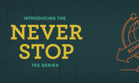 Never Stop Banner