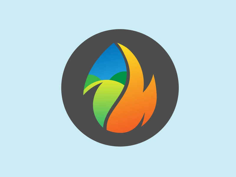 Fire logo art branding design website illustration illustrator vector logo