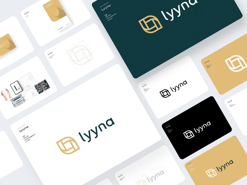 lyyna - logo design tonik typography brand design branding lettering vector design illustration logo