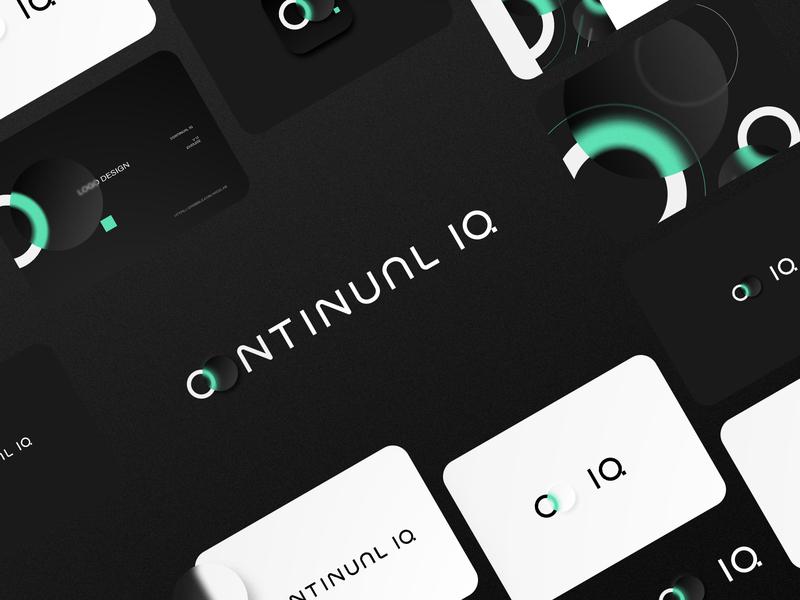 CONTINUAL IQ widelab identity design identity logotype logos branding typography vector design logo