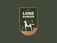 The Lone Ranger branding icon design illustration logo logo mark