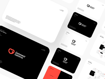 Connect Centric ❤️  Brand Identity tonik brand design branding animation icon ui vector design logo