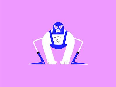 lucha libre vector illustration design lucha libre